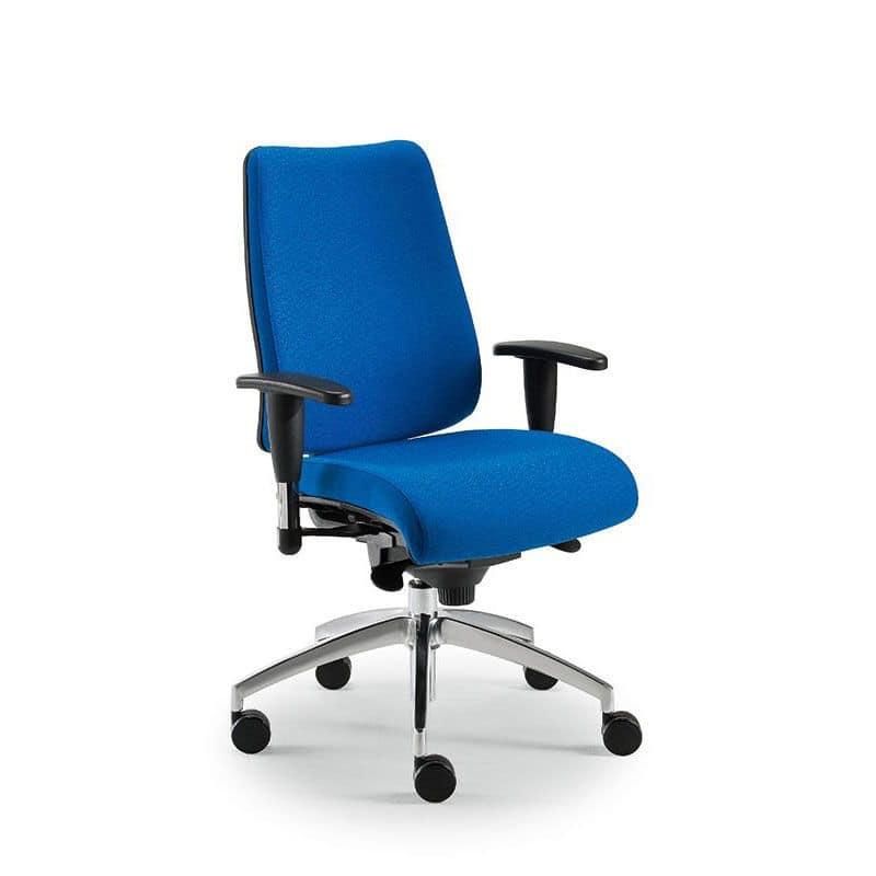 DD Dinamica executive 53712, Bürostuhl mit Rollen und höhenverstellbar