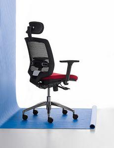New Malice 01 PT, Managerial Stuhl für den professionellen Studio, ergonomische