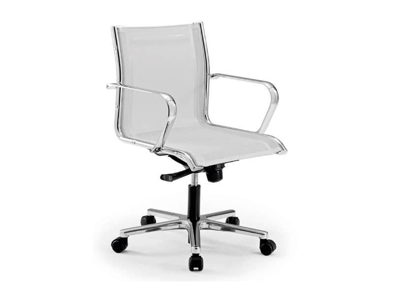 Origami RE executive 70221, Bürostuhl mit Sitz und Rückenlehne in Maschen