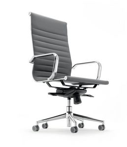 UF 597 / A, Stuhl mit hoher Rückenlehne für das Exekutivbüro