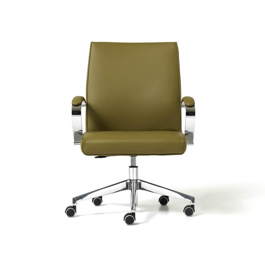 Venus, Stuhl mit 5-Speichen, ergonomisch, für den professionellen Studio