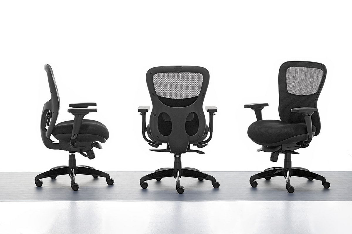 Athos 01, Directional Bürostuhl, Innen Sperrholz Sitz