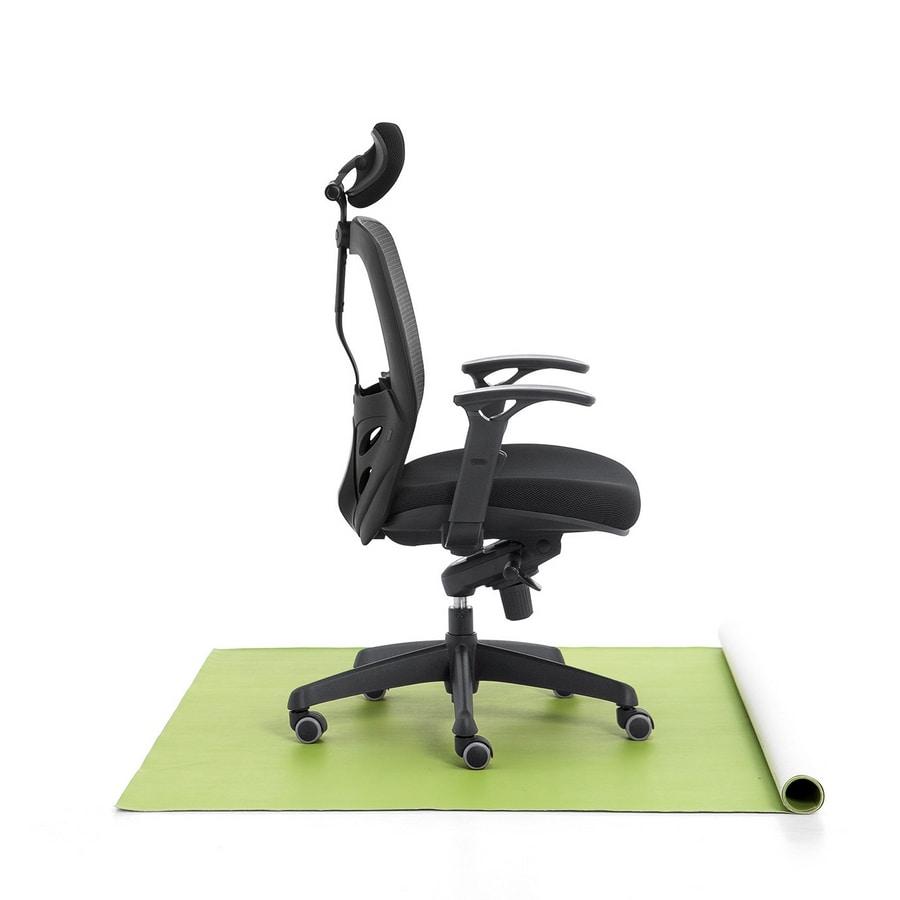Tempo 01, Bürostuhl, Sitz gepolstert, Netzkappe