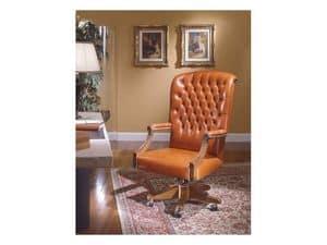 Fiore Bis, Klassische Bürostühle für Luxus-Büro