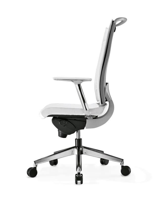 Korium, Ergonomischen Bürostuhl, Rückenstruktur aus Polypropylen
