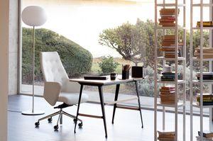 Wrap Plus 02, Executive Bürostuhl, aus Leder oder Stoff