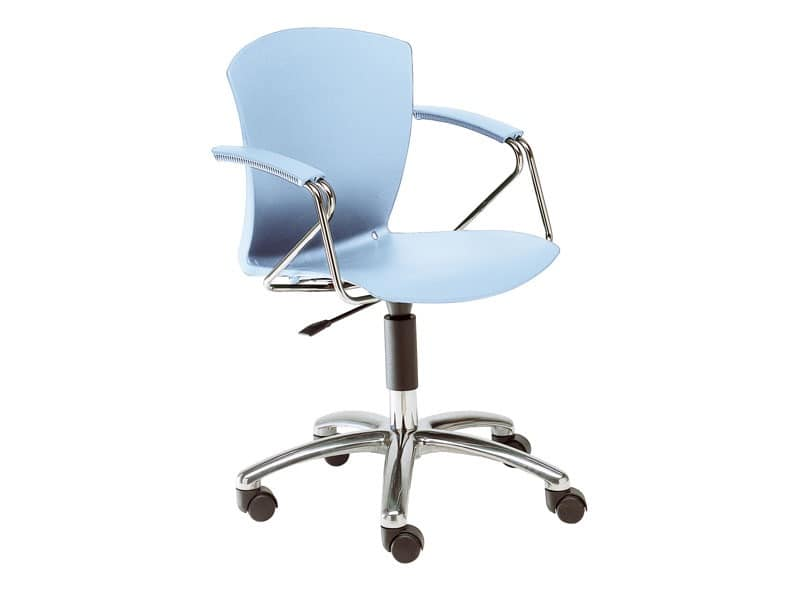 Carina, Stuhl mit Rädern