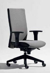 Lora-PB, Bürostuhl mit T-förmigen Armlehnen