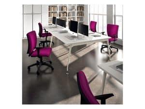 Sprint 17975-N, Operativen Bürostuhl mit verstellbaren Armlehnen