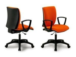 Sprint 17977-N, Bürostuhl mit Armlehnen für Büro, verschiedenen Ausführungen