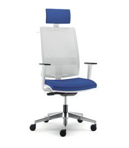 UF 432 / A, Stuhl für Büro mit Rädern, mit verschiedenen Anpassungen