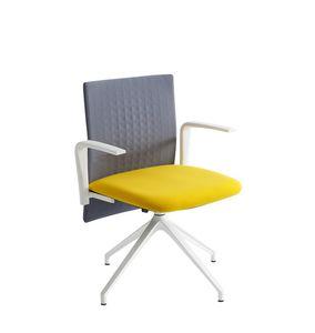 Elodie Task U, Bürodrehstuhl mit schallabsorbierender Rückenlehne