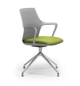 Ipa 4 spokes, Drehstuhl für die Büroumgebung