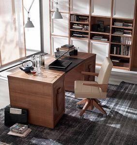 Tea, Schreibtisch mit 6 Schubladen