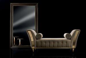 DIAMANTE chaise longue, Gepolsterte Chaiselongue für Wohnzimmer