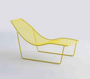 Link Chaise Longue, Metall Chaiselongue für Garten