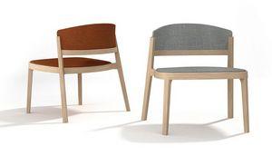 Abuela Lounge Wood, Lounge Sessel aus Buchenholz