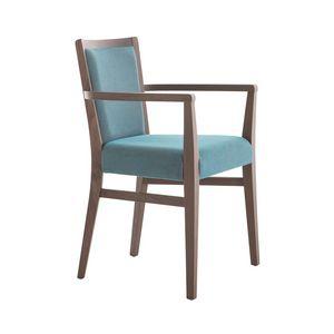 MP472HP, Moderner Stuhl mit Armlehnen für Restaurant