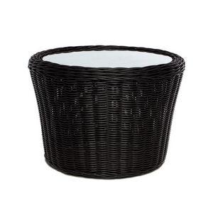 Wapiti 4428, Runder niedriger Tisch aus gewebter Faser