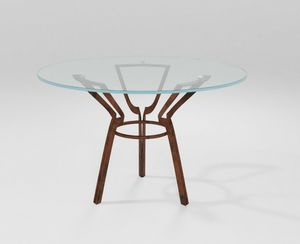 Cerchio, Tisch mit eiserner Klingenbasis