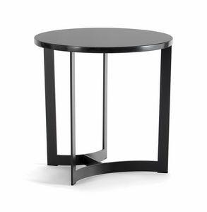 HUGO COFFEE TABLE 088 C H44 - 088 N H44, Runde Couchtische mit Metallfuß