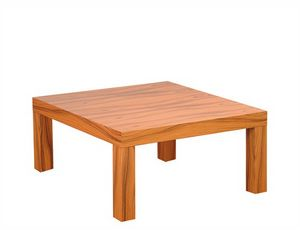 Silva 907, Quadratischer Couchtisch aus Holz