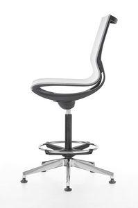 Key Line stool, Drehhocker für Büro