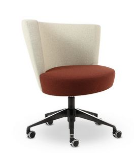 ELIPSE 12, Sessel mit Rädern für das Büro