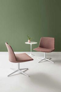 Kanvas Lounge, Sessel mit breitem Sitz für Hotels