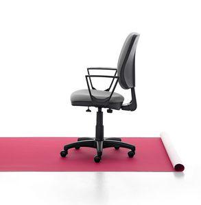 Eros 01 CP, Gepolsterte Arbeitsstuhl, Aluminium-Basis, für das Büro