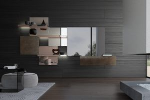 Attilio, Modulares System mit Spiegeln