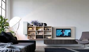 Citylife 01, Modulares System für modernes Wohnen, mit LED-Leuchten