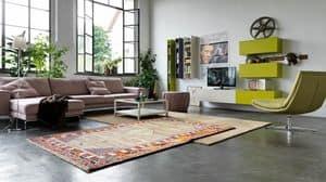 Citylife 04, Baukastensystem für moderne Wohnräume mit Wandschränken