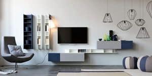 Citylife 14, Möbel für Wohnzimmer, mit minimalen Design