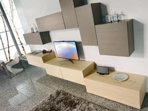 Climb Day 01, Modulares System für moderne Wohnzimmer