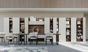 CODE comp.06, Moderne Bibliothek, vertikale Bar-Design, für das Wohnzimmer