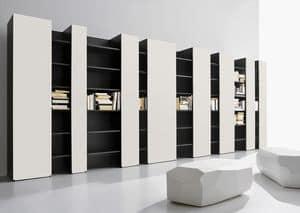 CODE comp.03, Möbel für modernes Wohnen, hohe Bauform, TV-Ständer