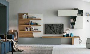 Comp. A064, Modulare Möbel für den Wohnbereich