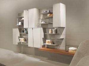 DAY comp.05, Modulares Schrankwandsystem für den Wohnbereich