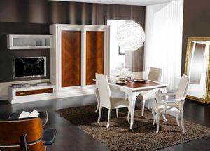 Diamante, Modulare Zusammensetzung für Wohnzimmer