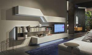 Domino Concept, Wohnzimmermöbel mit dynamischem Design