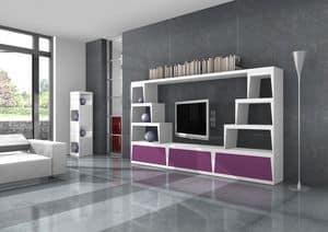 Egon, Design TV-Ständer für Ihre trendige Lounge