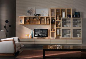 Elettra Art. EL1014, Schnittwand für Wohnzimmer