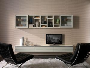 Elettra Art. EL1020, Wandschrank für Wohnzimmer