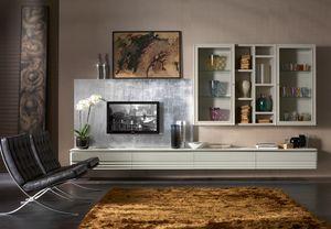 Elettra Art. EL1028, Modulares Wohnzimmermöbelsystem