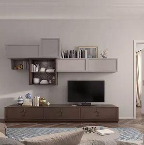 Flor comp. 47 F25, Modulare Möbel für das Wohnzimmer
