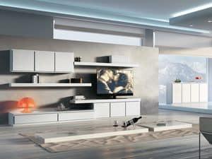 Giorno Sistemi 09, Für moderne Aufenthalte von modularen Möbel eingestellt