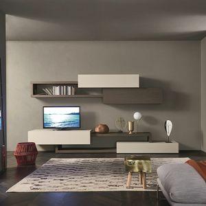 Lampo L5C28, Modulare Zusammensetzung für Wohnzimmer