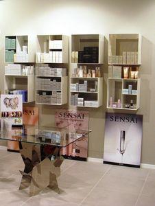 Overtime Shopping, Wand-Speichereinheiten, in Walzstahl, ideal für Geschäfte und Parfümerien