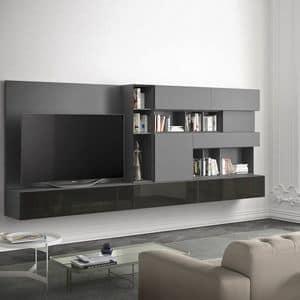 People P213, Wohnzimmermöbel mit horizontalen und vertikalen Modulen